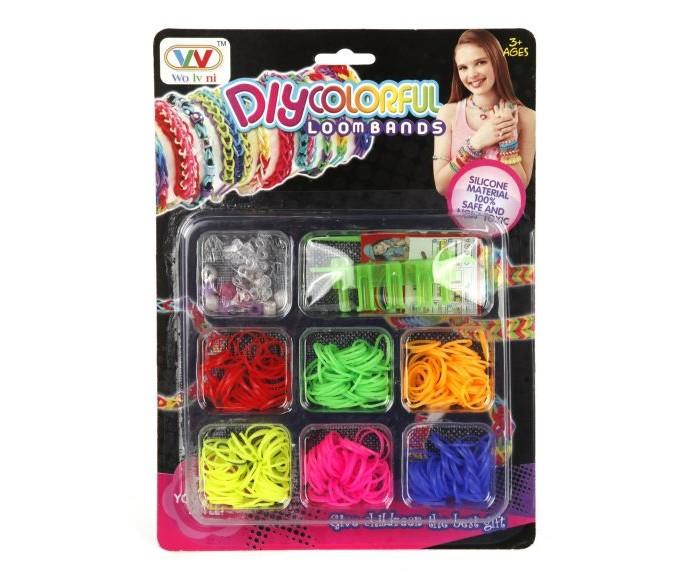 Наборы для творчества Shantou Gepai Набор для плетения резинок 21009A