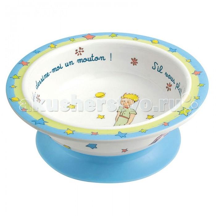 Посуда Petit Jour Тарелка глубокая на присоске Petit Prince посуда petit jour тарелка petit prince