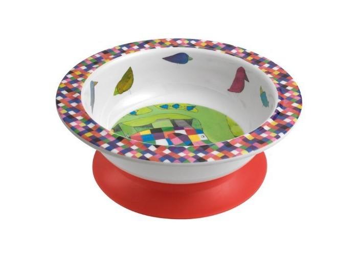 Посуда Petit Jour Тарелка глубокая на присоске Elmer посуда petit jour тарелка глубокая на присоске oui oui