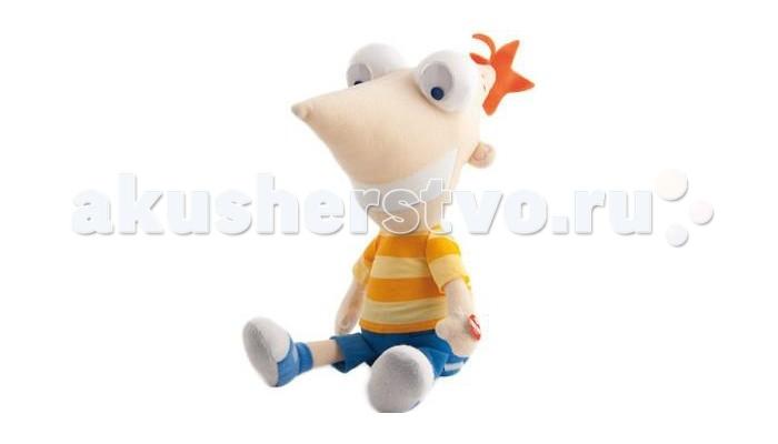 Интерактивная игрушка IMC toys Фигурка мягкая Финес DisneyФигурка мягкая Финес DisneyФигурка мягкая IMC toys смеющийся Финес  Смех поднимает настроение, продлевает жизнь и заряжает положительными эмоциями на весь день!   Чтобы у Вас и Вашего ребенка всегда был повод посмеяться, подружитесь с Финесом – героем сериала « Финес и Ферб». Этот выдумщик и весельчак способен смеяться над шутками или просто так часами!   Чтобы рассмешить его, нужно просто нажать ему на руку. И все! Он будет смешно дрыгать ногами, двигаться и смеяться! Эта игрушка станет отличным зарядом позитива для детей и взрослых!   Работает от 3-х АА батареек (входят в комплект).<br>