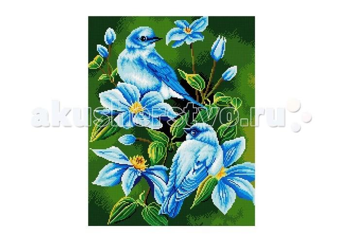 Molly Мозаичная картина В голубых цветах