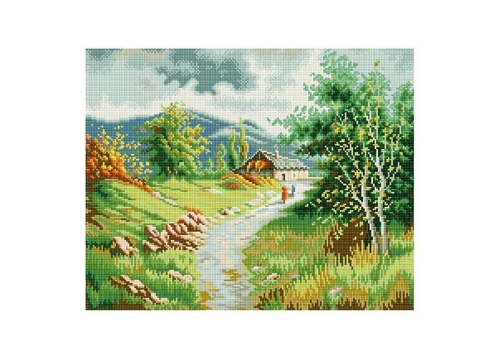 Творчество и хобби , Картины своими руками Molly Мозаичная картина Жаркий полдень в горах арт: 200193 -  Картины своими руками