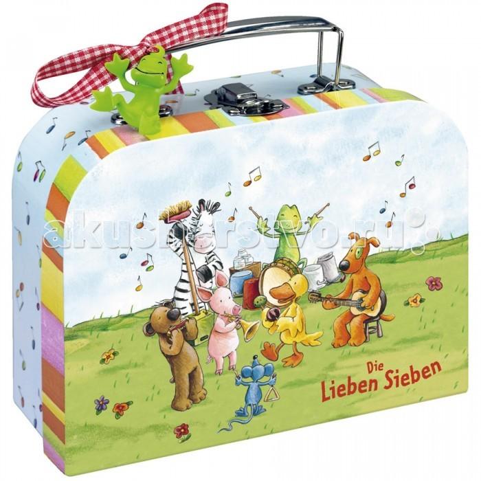 Летние товары , Детские чемоданы Spiegelburg Чемоданчик для игр Die Lieben Sieben арт: 200256 -  Детские чемоданы