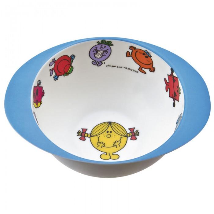 Посуда Petit Jour Тарелка глубокая с ручками Monsieur Madame посуда petit jour тарелка petit prince