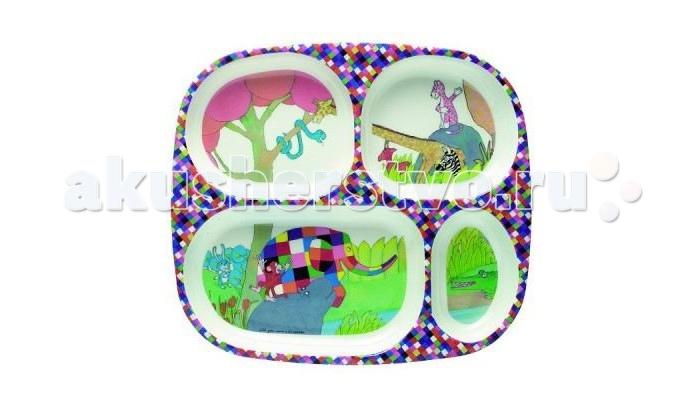 Petit Jour Тарелка с секциями Elmer 4 секции