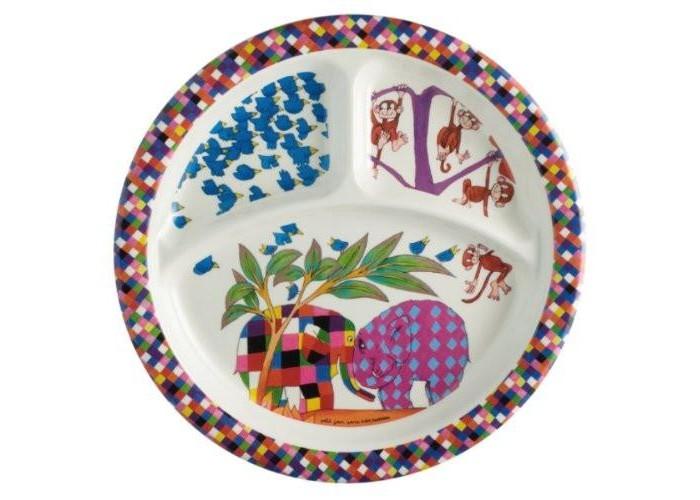 Посуда Petit Jour Тарелка с секциями Elmer 3 секции petit jour стакан детский с 3 лет