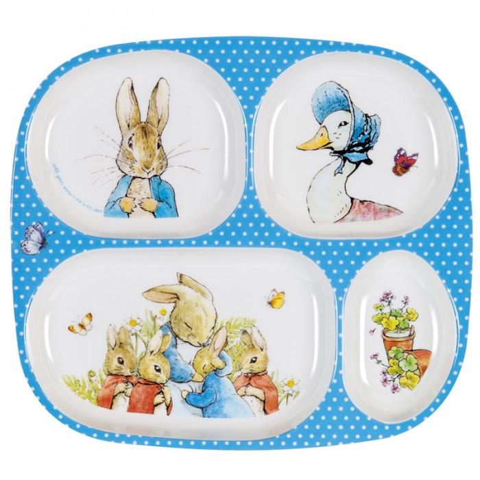 Посуда Petit Jour Тарелка с секциями Peter Rabbit peter rabbit nurser rhyme time