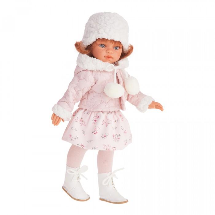 Munecas Antonio Juan  Кукла Эльвира - Зимний образ рыжая 33 см