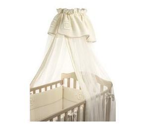 Балдахин для кроватки Funnababy TrioTrioНежный балдахин для детской кроватки Funnababy Trio, сделанный из тюля, будет радовать Вас своим аристократическим внешним видом, а Вашего малыша – надежной защитой от яркого света, мух и комаров.  Длина- 5 метров.<br>
