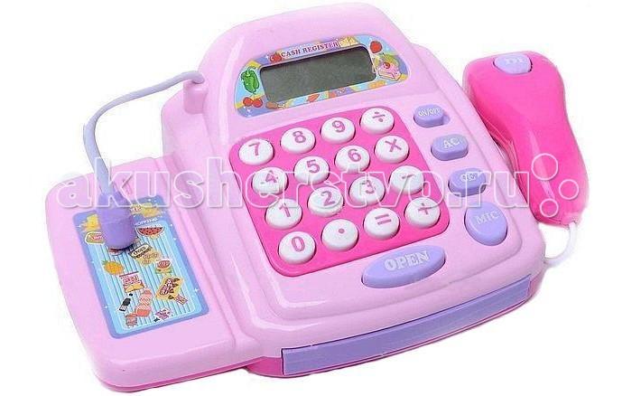 Ролевые игры Shantou Gepai Касса электронная с аксесуарами shantou gepai игрушка пластм касса электронная продукты сканер shantou gepai