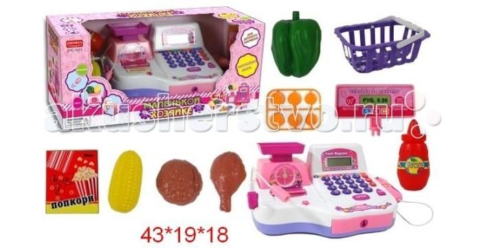 Ролевые игры Shantou Gepai Кассовый аппарат с чеком и набором продуктов