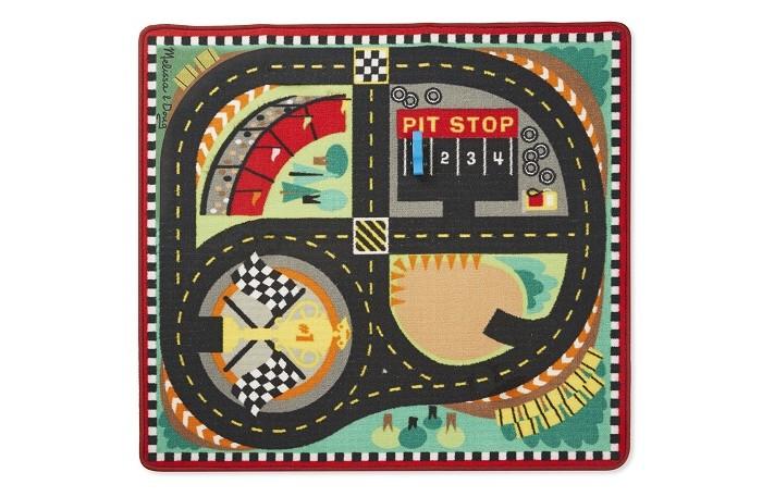 Игровой коврик Melissa & Doug Коврик Трасса для гонок