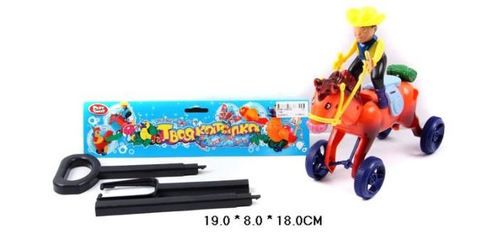 Каталки-игрушки Shantou Gepai Ковбой на палочке