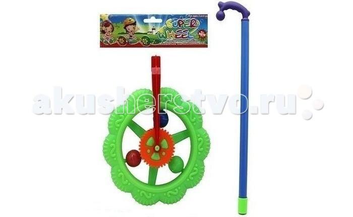 Каталки-игрушки Shantou Gepai Колесо 189-1 каталка shantou gepai морской конек zya a0347