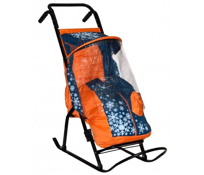 Купить Санки-коляска R-Toys Снегурочка 2-Р1 Снежинки в интернет магазине. Цены, фото, описания, характеристики, отзывы, обзоры