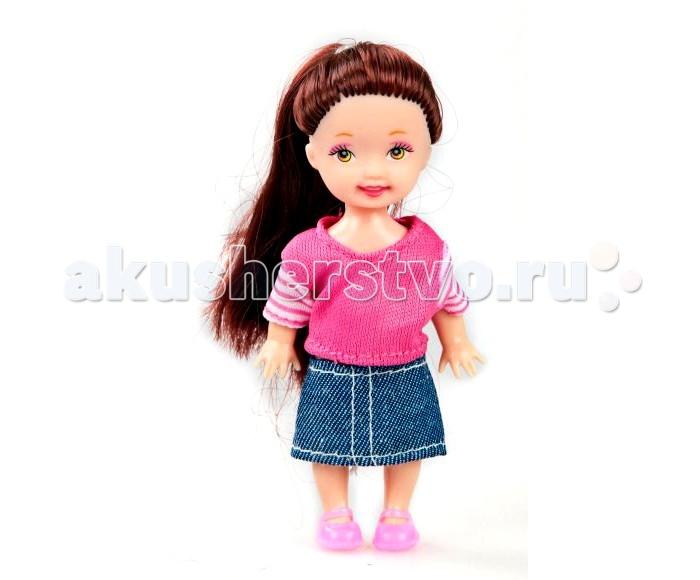 Куклы и одежда для кукол Shantou Gepai Кукла Любимая малышка 10 см кукла shantou gepai лиза с аксессуарами 32 см в ассортименте