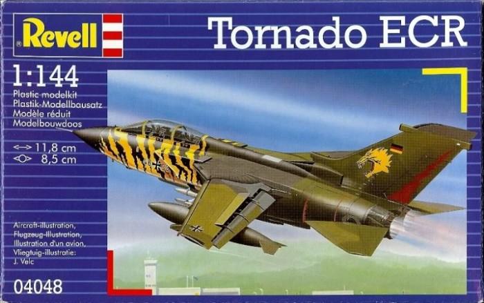 Конструкторы Revell Истребитель Tornado ECR (1/144) revell размер 5 0