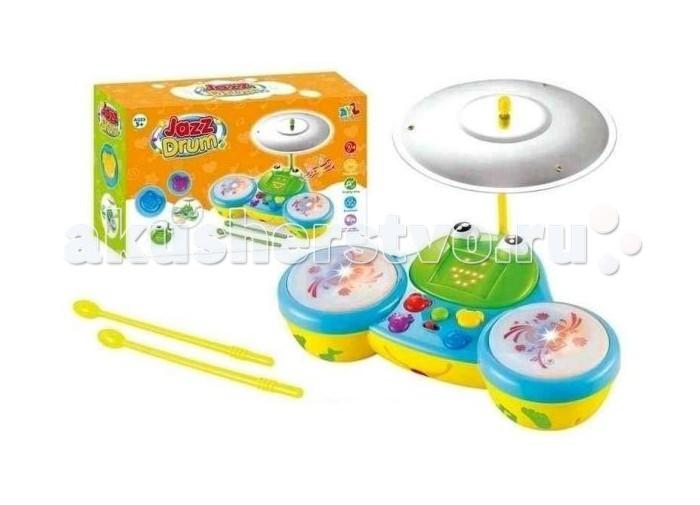 Музыкальные игрушки Shantou Gepai Электронный барабан Лягушонок (свет, звук) детский музыкальный инструмент shantou gepai барабан jd388b pink