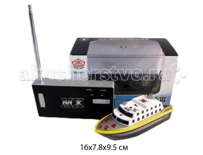 Машины Shantou Gepai Катер р/у аккум 4 канала зарядка от пульта 10м MX-0011-12