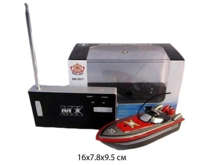 Радиоуправляемые игрушки Shantou Gepai Катер р/у аккум 4 канала зарядка от пульта 10м MX-0011-5