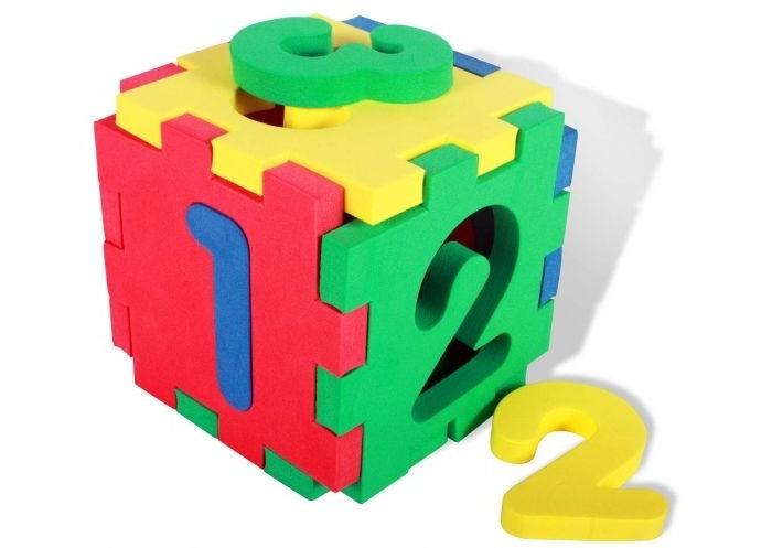 Развивающие игрушки Бомик Кубик-цифры бомик пазл для малышей цифры цвет основы желтый