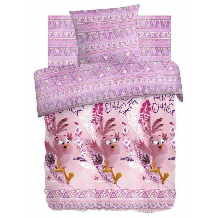 Постельное белье 1.5-спальное Непоседа Angry Birds Стелла 349406 1.5-спальное (3 предмета) постельное белье angry birds комплект постельного белья 1 5 бязь плохие свинки