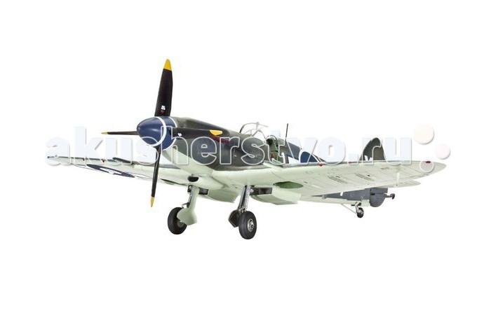 Конструктор Revell Самолет Сифайр F Mk. XVСамолет Сифайр F Mk. XVСборная модель истребителя Supermarine Seafire F Mk. XV времен Второй Мировой войны. Самолет является модификацией Supermarine Spitfire и создавался как палубный истребитель. Данные машины активно использовались во время войны в Корее.  Внимание! Клей и краски в комплект не входят.  Особенности:   Длина модели: 21.5 см Размах крыльев: 23.4 см Масштаб: 1:48 Количество деталей: 120 шт.<br>