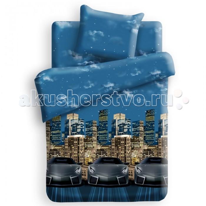 Постельное белье Непоседа For You Стритрейсинг 1.5-спальное (3 предмета)For You Стритрейсинг 1.5-спальное (3 предмета)Постельное белье For You Стритрейсинг 1.5-спальное (3 предмета) несомненно порадует каждого ребенка!  Комплект постельного белья изготовлен из бязи, плотностью 115-120 г/м2 (100% хлопок), с использованием нелиняющих натуральных красителей. Бязь – это плотная хлопчатобумажная ткань полотняного переплетения. Она прочная и износоустойчивая, легко стирается и гладится, обладает отличной воздухонепроницаемостью.  Рекомендации по уходу: Постельное белье следует стирать при температуре 40 градусов; Наволочки и пододеяльники следует стирать вывернутыми на изнаночную сторону; Отжим в режиме 600 об/мин.; Гладить при низкой и средней температуре; Не использовать отбеливатели.  В комплекте: Пододеяльник 143&#215;215 см — 1 шт. Простынь 150&#215;214 см — 1 шт. Наволочка 70&#215;70 см — 1 шт.<br>
