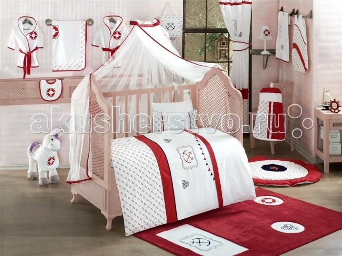 Постельное белье Kidboo Red Ocean (3 предмета)Red Ocean (3 предмета)Комплект постельного белья Kidboo Red Ocean 3 предмета выполнен из высококачественного 100% хлопка.   В комплект входит:   пододеяльник (100х140 см)  наволочка (40х60 см)  простынь на резинке (60х120 + 16 см)<br>