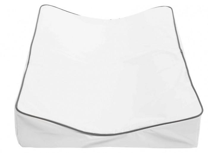 Luma Накладка для пеленания 72x44x9Накладка для пеленания 72x44x9Luma Накладка для пеленания 72x44x9  Верхний слой выполнен из непромокаемого материала, приятного для тела, прочного, не рвущегося по стыкам.   Материал: полиэстер, полиуретан и полиэтилен, не содержит ПВХ.  Верхний слой съемный, на липучках, его можно стирать при t 40С.<br>