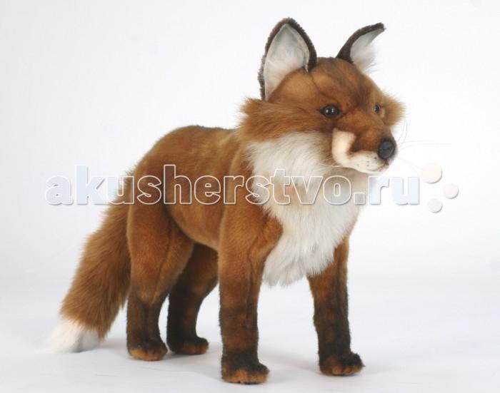 Мягкие игрушки Hansa Рыжая лиса стоячая 56 см