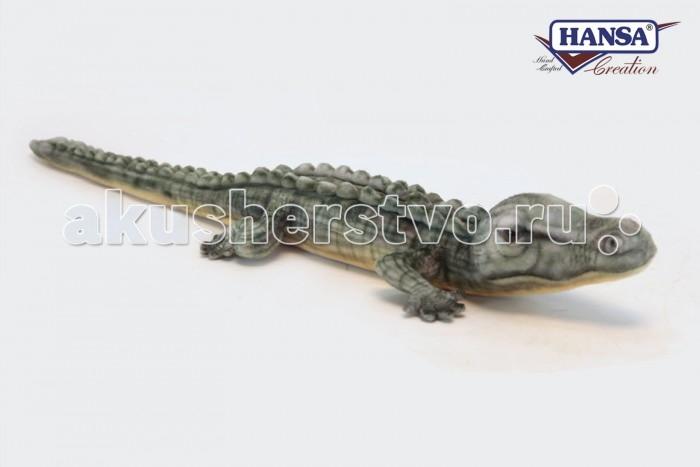 Мягкие игрушки Hansa Крокодил гребнистый морской 70 см мягкие игрушки hansa жираф 70 см
