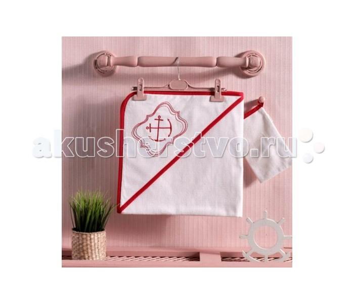 Полотенца Kidboo Комплект полотенце-уголок + варежка Red Ocean полотенца kidboo комплект полотенце уголок варежка butterfly