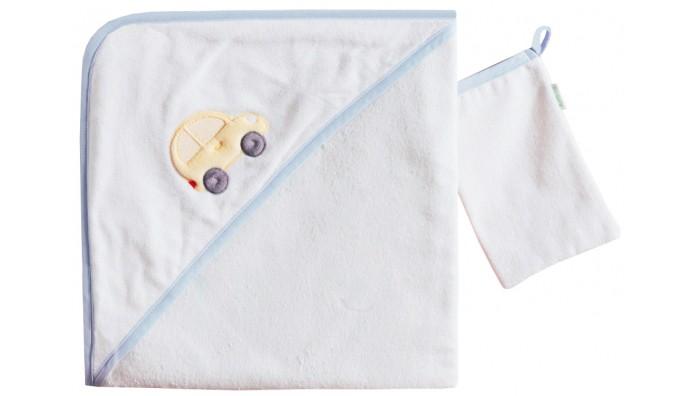 Полотенца Kidboo Комплект полотенце-уголок + варежка Traffic Jam полотенца kidboo комплект полотенце уголок варежка butterfly