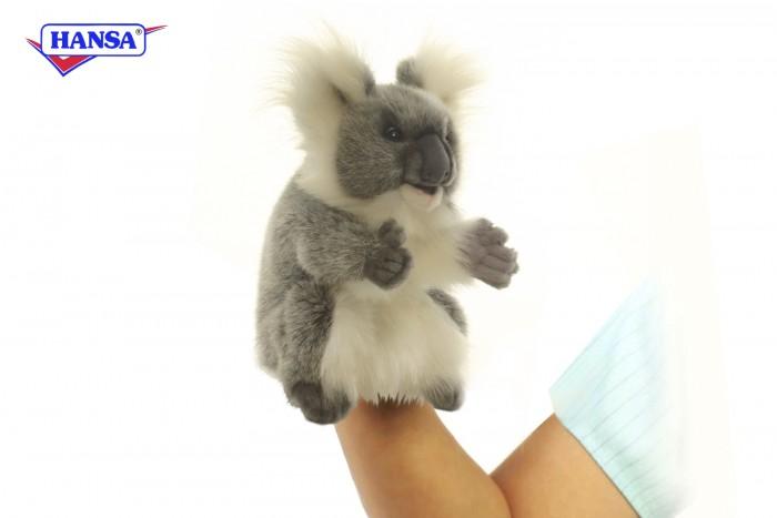 Ролевые игры Hansa Игрушка на руку Коала 24 см мягкие игрушки hansa счастливая коала 23 см