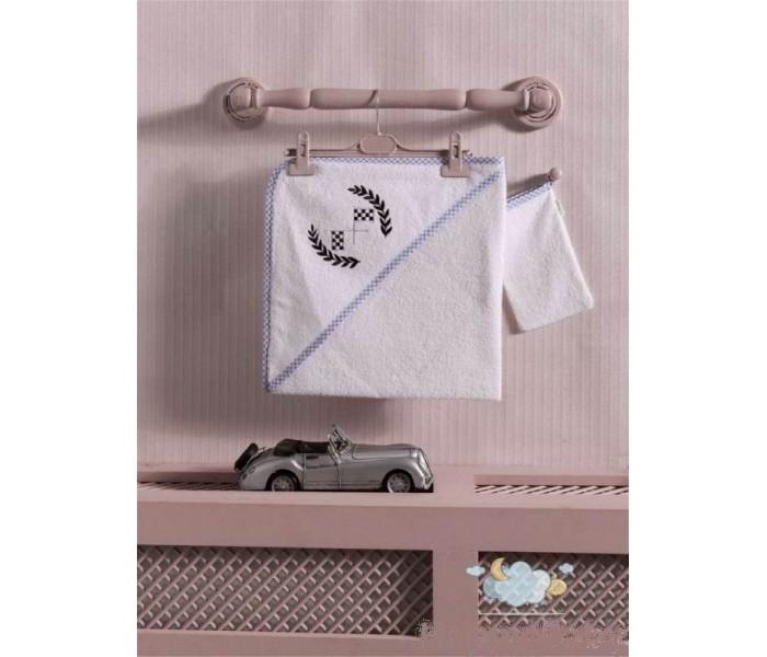 Полотенца Kidboo Комплект полотенце-уголок + варежка Lets Race полотенца kidboo комплект полотенце уголок варежка butterfly