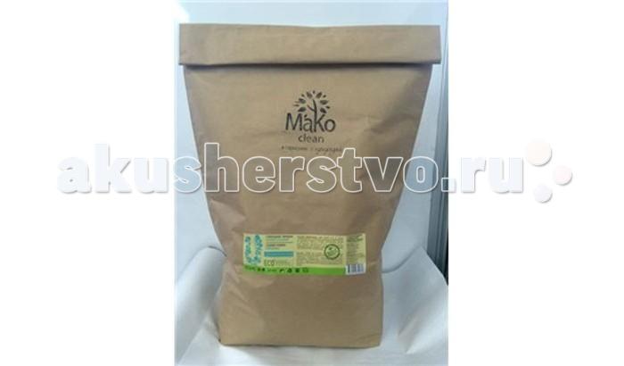 MaKo Clean Порошок стиральный Universal универсальный 10 кгПорошок стиральный Universal универсальный 10 кгMaKo Clean Порошок стиральный MaKo Clean Universal, универсальный, 10 кг.  Те, кто отдает предпочтение натуральным средствам для стирки и уборки, знают, как трудно найти компромисс между эффективностью и экологичностью. Сложные пятна плохо поддаются воздействию народных средств, а обычные порошки вредят окружающей среде, а также могут стать причиной аллергии.   Гипоаллергенный бесфосфатный эко-порошок MakoClean подходит для стирки всех вещей, не требующих специального ухода, бережно относится к ярким цветам и беспощаден к загрязнениям. Простое решение для тех, кто заботится о своих близких — и не забывает о природе.  Универсальный эко порошок от Мако Экологичный натуральный состав, высокая эффективность стирки, безвредны для человека и окружающей среды — все, что нужно современному человеку, который заботится о здоровье своих близких.  Применения стирального эко порошка При среднем уровне загрязнения и средней жесткости воды достаточно всего 60 г стирального порошка на 1 цикл стирки. Количество стирального средства может быть изменено в зависимости от степени загрязнения.  Бесфосфатный порошок не содержит: хлора фосфатов ароматизаторов красителей и других химически агрессивных компонентов отдушек оптического отбеливателя. Состав натурального порошка: АПАВ-на основе сырья растительного происхождения (5-15%) , НПАВ — глюкозиды, мыльная крошка, кислородный отбеливатель, активатор отбеливателя, комплексообразователь КМЦ, силикат натрия, карбонат натрия - сода кальцинированная, сульфат натрия, энзимы, пеногаситель  Преимущества     Удаляет любые загрязнения при температурах от 40 до 95 °С Для всех типов стиральных машин и для ручной стирки Для всех типов тканей, которые не требуют специального ухода Не вызывает аллергии и раздражения Полностью выполаскивается с ткани Предотвращает деформацию и усадку детской одежды Сохраняет цвет ткани Без запаха Полностью биоразлаг