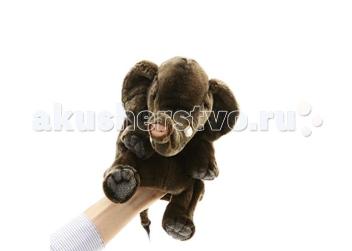 Ролевые игры Hansa Игрушка на руку Слон 24 см hansa мягкая игрушка верблюд