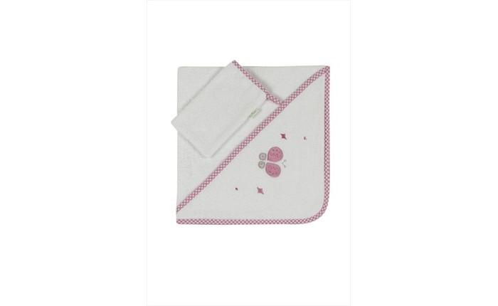Полотенца Kidboo Комплект полотенце-уголок + варежка Funny Dream полотенца kidboo комплект полотенце уголок варежка butterfly
