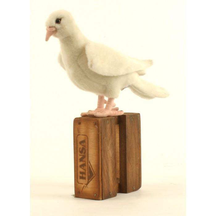 Мягкие игрушки Hansa Белый голубь 20 см мягкие игрушки hansa обезьянка сидящая палевая 20 см