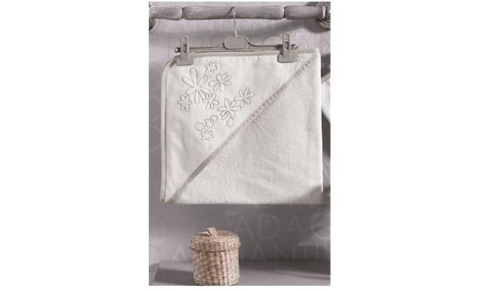 Полотенца Kidboo Комплект полотенце-уголок + варежка Valentine Saten Vanilla полотенца kidboo комплект полотенце уголок варежка butterfly