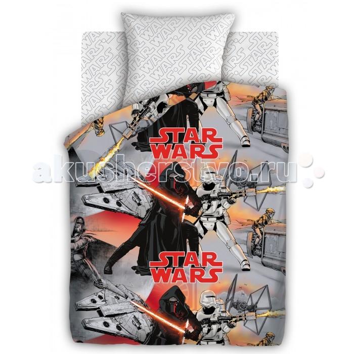 Постельное белье Непоседа Star Wars Противостояние 1.5-спальное (3 предмета)Star Wars Противостояние 1.5-спальное (3 предмета)Постельное белье Star Wars Противостояние 1.5-спальное (3 предмета) несомненно порадует каждого ребенка!  Комплект постельного белья изготовлен из бязи, плотностью 115-120 г/м2 (100% хлопок), с использованием нелиняющих натуральных красителей. Бязь – это плотная хлопчатобумажная ткань полотняного переплетения. Она прочная и износоустойчивая, легко стирается и гладится, обладает отличной воздухонепроницаемостью.  Рекомендации по уходу: Постельное белье следует стирать при температуре 40 градусов; Наволочки и пододеяльники следует стирать вывернутыми на изнаночную сторону; Отжим в режиме 600 об/мин.; Гладить при низкой и средней температуре; Не использовать отбеливатели.  В комплекте: Пододеяльник 143&#215;215 см — 1 шт. Простынь 150&#215;214 см — 1 шт. Наволочка 70&#215;70 см — 1 шт.<br>