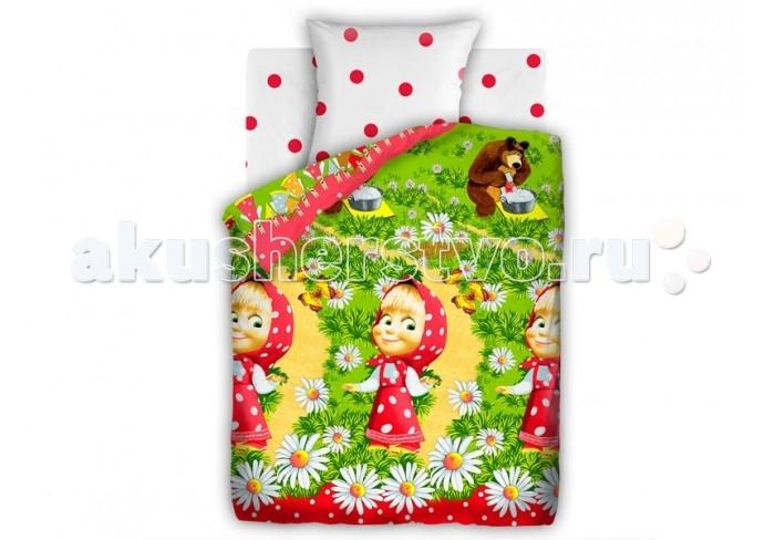 Постельное белье Непоседа Маша и Медведь Большая стирка 1.5-спальное (3 предмета)Маша и Медведь Большая стирка 1.5-спальное (3 предмета)Постельное белье Маша и Медведь Большая стирка 1.5-спальное (3 предмета) несомненно порадует каждого ребенка!  Комплект постельного белья изготовлен из бязи, плотностью 115-120 г/м2 (100% хлопок), с использованием нелиняющих натуральных красителей. Бязь – это плотная хлопчатобумажная ткань полотняного переплетения. Она прочная и износоустойчивая, легко стирается и гладится, обладает отличной воздухонепроницаемостью.  Рекомендации по уходу: Постельное белье следует стирать при температуре 40 градусов; Наволочки и пододеяльники следует стирать вывернутыми на изнаночную сторону; Отжим в режиме 600 об/мин.; Гладить при низкой и средней температуре; Не использовать отбеливатели.  В комплекте: Пододеяльник 143&#215;215 см — 1 шт. Простынь 150&#215;214 см — 1 шт. Наволочка 70&#215;70 см — 1 шт.<br>