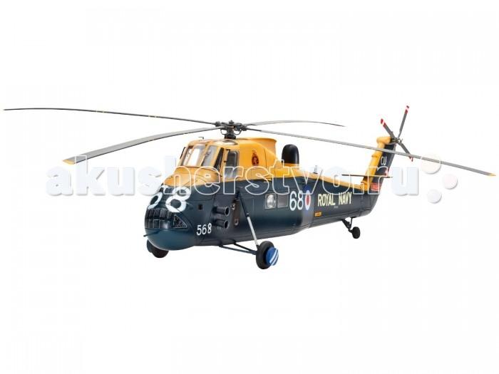 Конструктор Revell Вертолет Боевой Wessex HAS Mk.3 (133 детали)Вертолет Боевой Wessex HAS Mk.3 (133 детали)Набор со сборной моделью вертолета Wessex HAS Mk.3 в масштабе 1:48. С 1967 года данный вертолет состоит на вооружении Королевского флота Великобритании и используется для противолодочной борьбы. Разработаннаяна основе S-58, версия Mk3 получила более мощную версию двигателя, новую радиолокационную систему и комплексную систему управления полетом. Последнее применение HAS Mk3 было во время Фолклендской войны. Хамфри № 737 НАН с HMS Антрим получил известность, потопив аргентинский подводную лодку во время данного конфликта. В 1983 вертолеты данной модели были выведены сняты с эксплуатации.   В набор входят не только детали для сборки, но и клей с красками, а значит, вам не придется покупать их отдельно.  Особенности:   Длина модели: 31.4 см Ширина модели: 35.6 см Масштаб: 1:48 Количество деталей: 133 шт.<br>