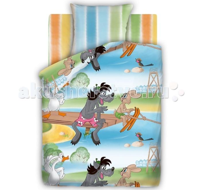 Постельное белье Непоседа Союзмультфильм Догони меня 1.5-спальное (3 предмета)