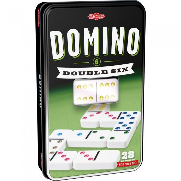 Настольные игры Tactic Games Настольная игра Домино настольная игра tactic games логическая скажи иначе компактная версия 2 53369