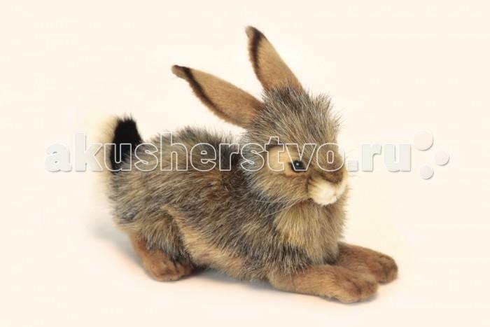 Мягкие игрушки Hansa Черный Кролик 25 см мягкие игрушки hansa кролик 23 см