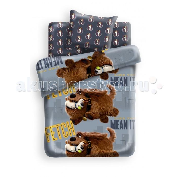 Постельное белье 1.5-спальное Непоседа Тайная жизнь домашних животных Макс и Дюк 1.5-спальное (3 предмета) постельное белье 1 5 спальное непоседа смайлы 1 5 спальное 3 предмета