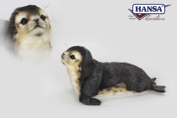 Мягкие игрушки Hansa Детеныш тюленя-монаха 30 см reeves гравюра мини серебряная детеныш тюленя