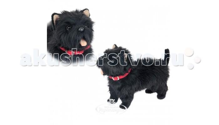 Мягкая игрушка Hansa Вест Хайленд Терьер черный 35 см